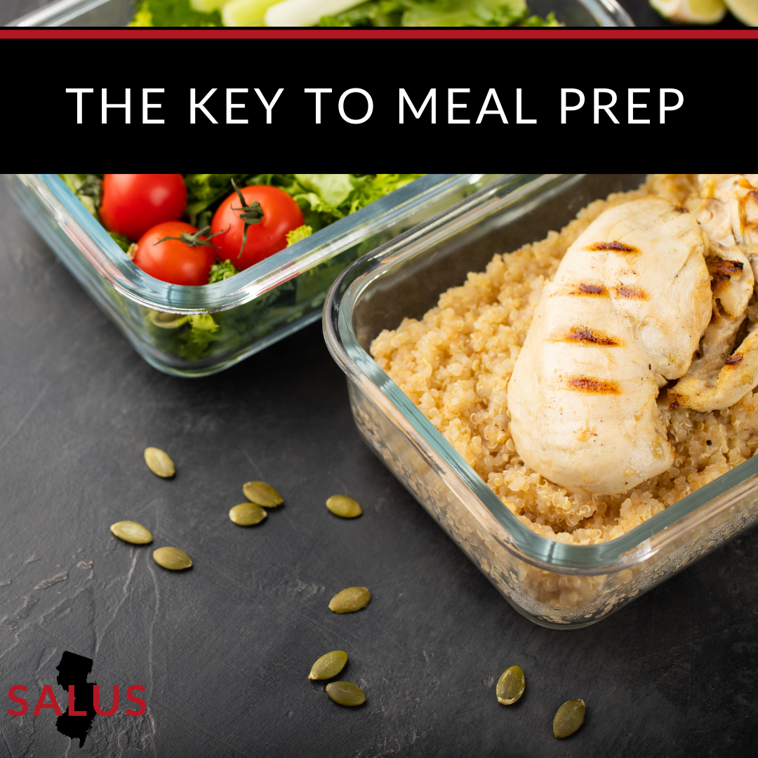 Want to Know the Secret to Meal Prep? Plan Ahead
