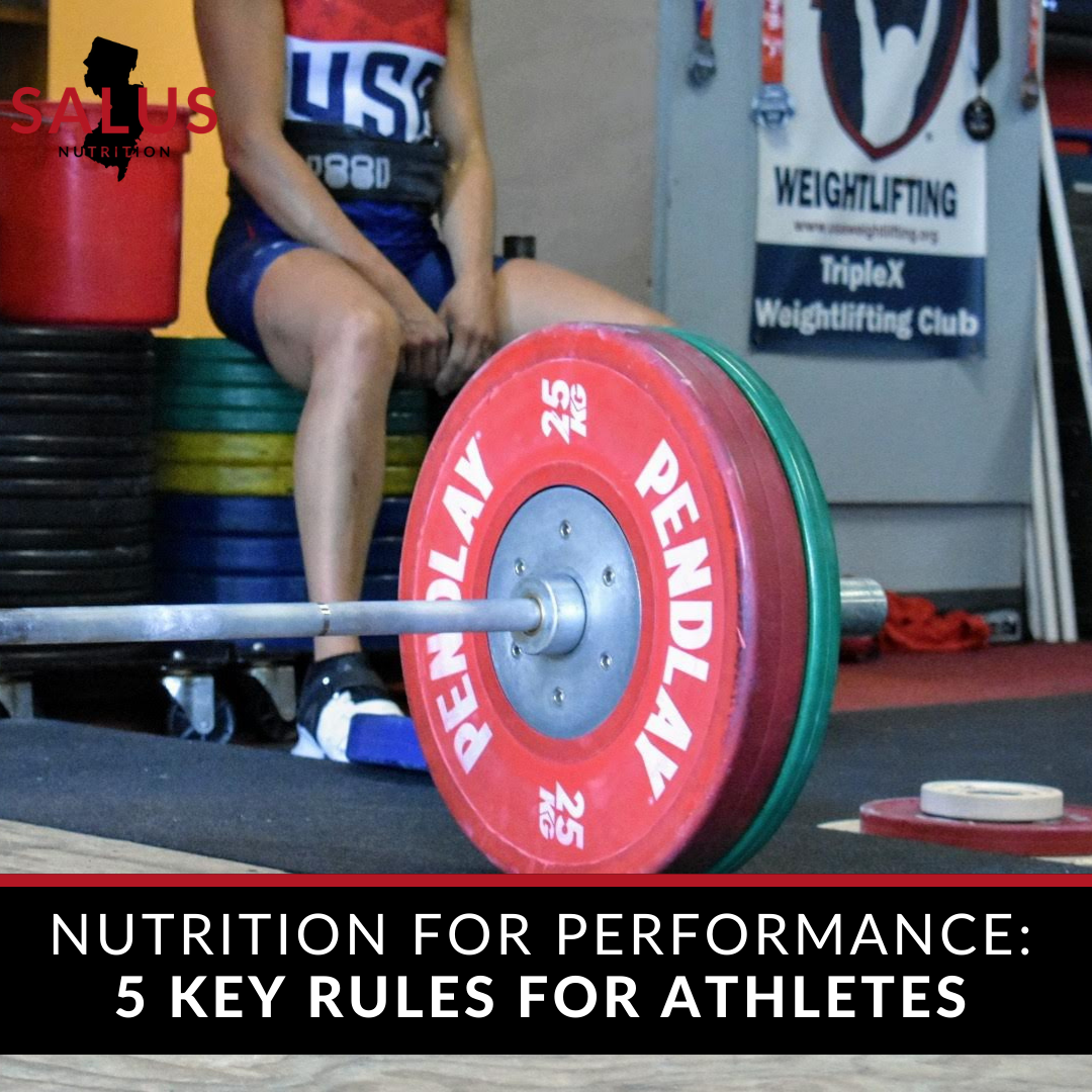 nutrition for performance tips