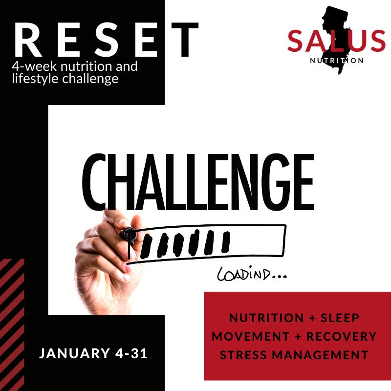 RESET Salus Nutrition Challenge