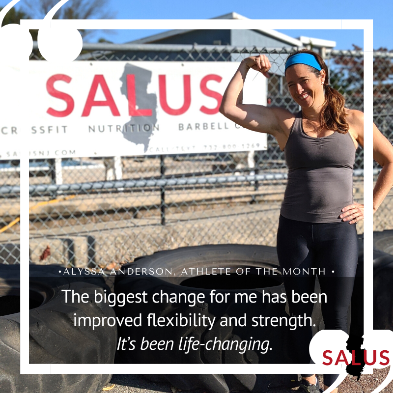 """Athlete of the Month: Alyssa Anderson """"It's been life-changing."""""""