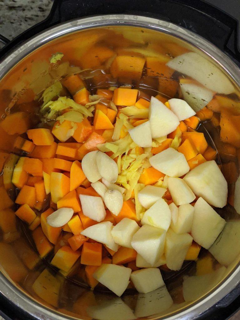 butternut squash soup instapot