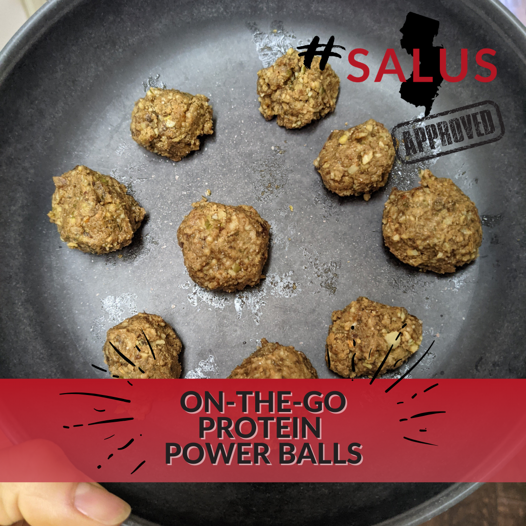 On-the-Go Protein Power Balls