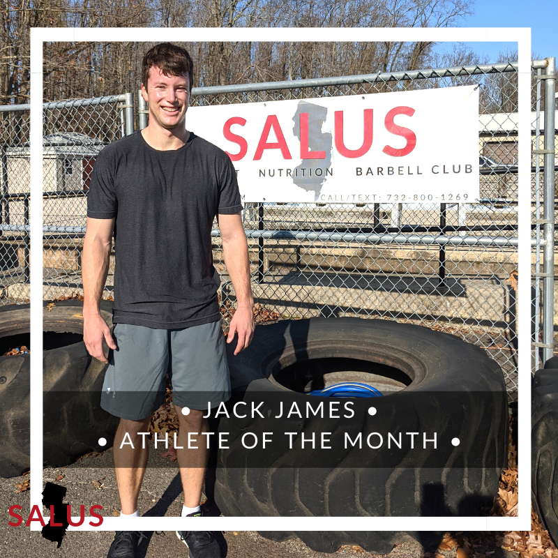 Athlete of the Month: Jack James