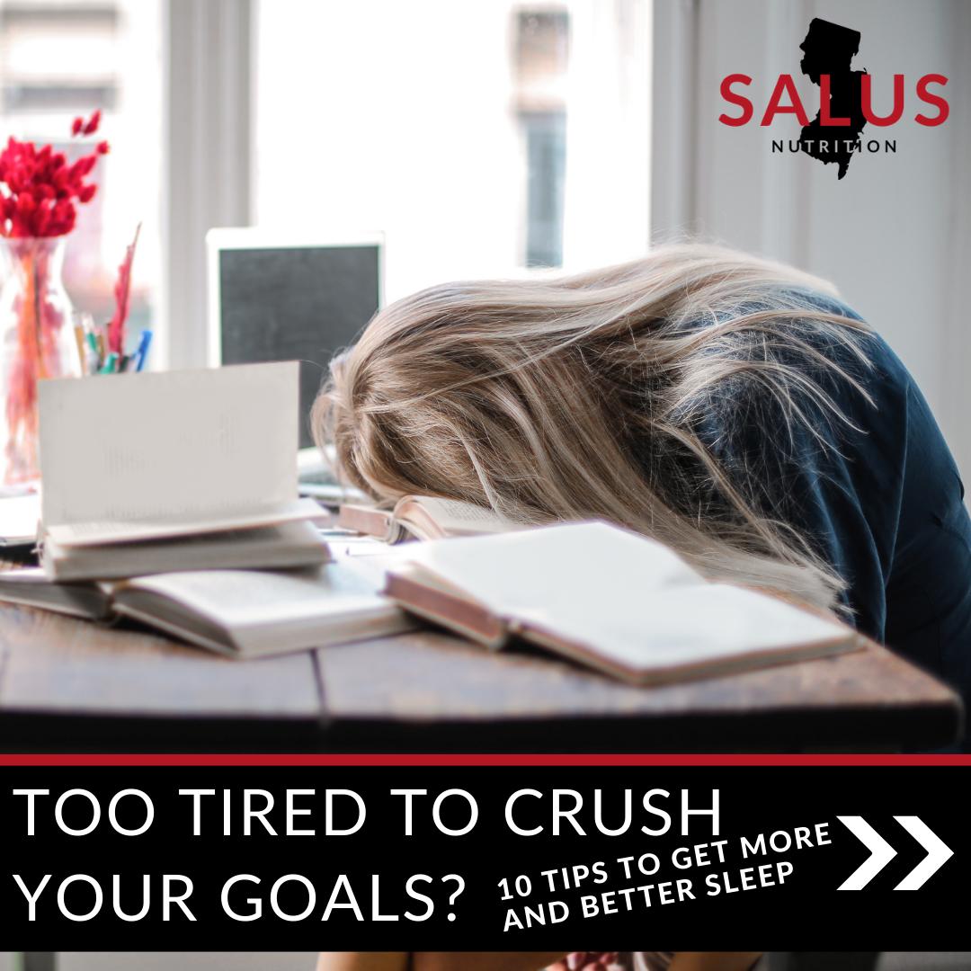 The Link Between Sleep and Goals