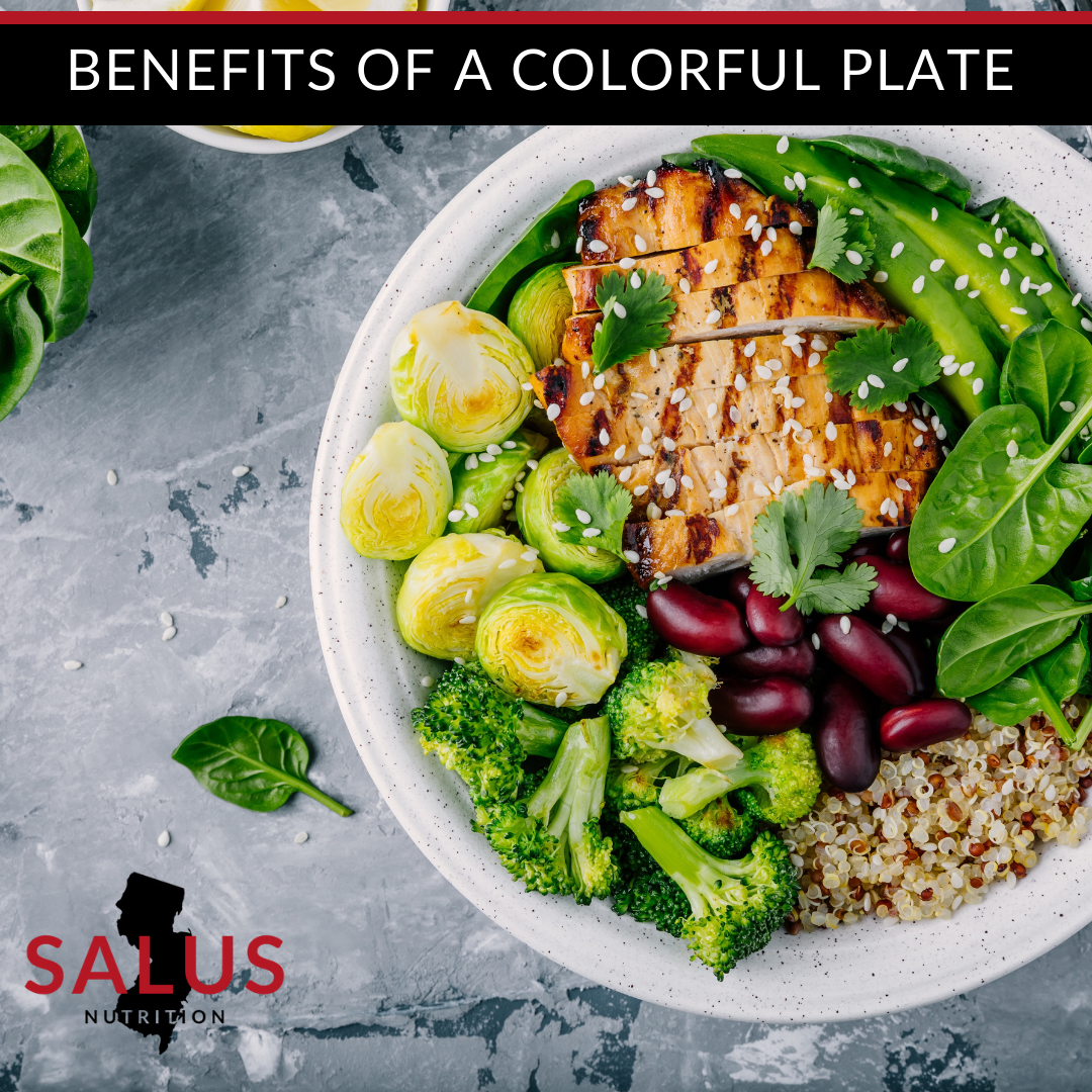 Micronutrients: Benefits of a Colorful Plate