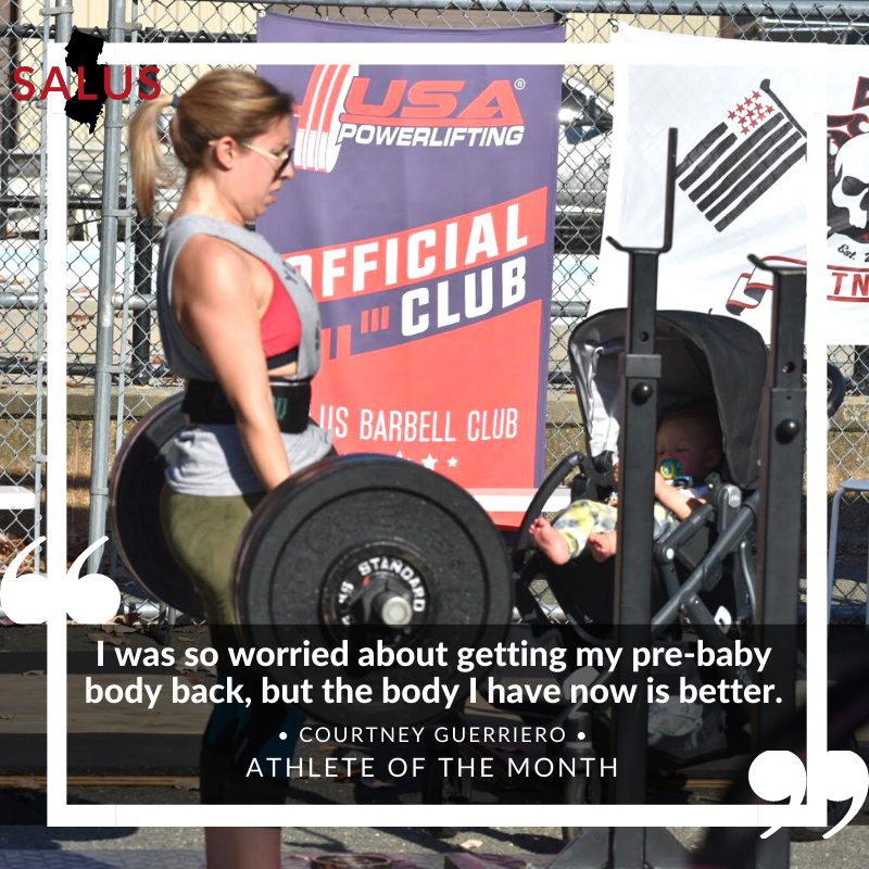Courtney Guerriero, Athlete of the Month April 2021