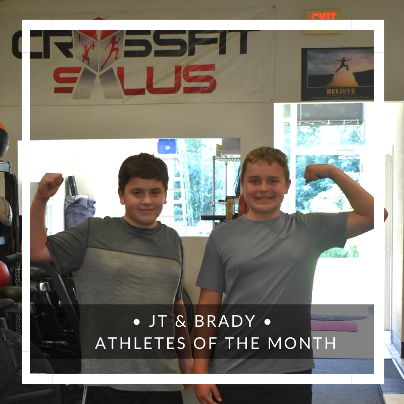 athletes of the month middletown nj
